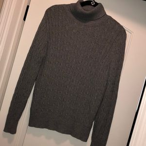 ➡️ Misses turtleneck sweater, long sleeve, cabled